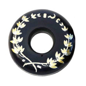Razors Ground Control 57mm/90A Aggressive Skate Wheels, Black, medium