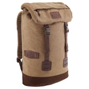 Burton Tinder Backpack, Beagle Brown Waxed Canvas, medium