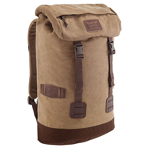Burton Tinder Backpack, Beagle Brown Waxed Canvas, 600