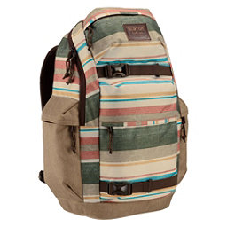 Burton Kilo Backpack 2017, Rancher Stripe Print, 256