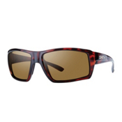 Smith Challis Polarized Sunglasses, Tortoise, medium