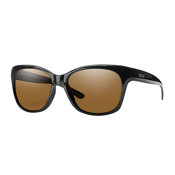 Smith Feature Polarized Womens Sunglasses, Black, 600