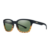 Smith Founder Slim Sunglasses, Matte Black Fade Tortoise, medium