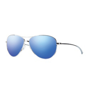 Smith Langley Womens Sunglasses, Blue Flash Mirror, medium