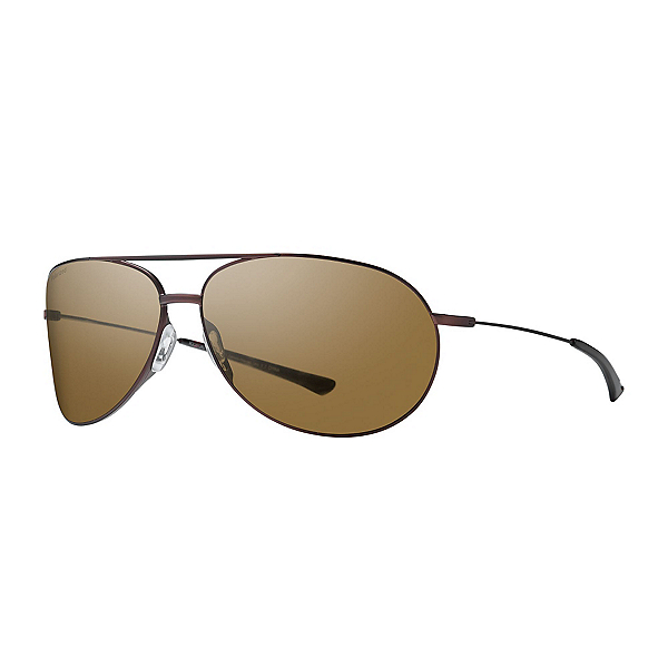 Smith Rockford Polarized Sunglasses, Matte Brown, 600