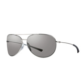 Smith Rockford Slim Polarized Womens Sunglasses, Silver-Polarized Platinum, medium