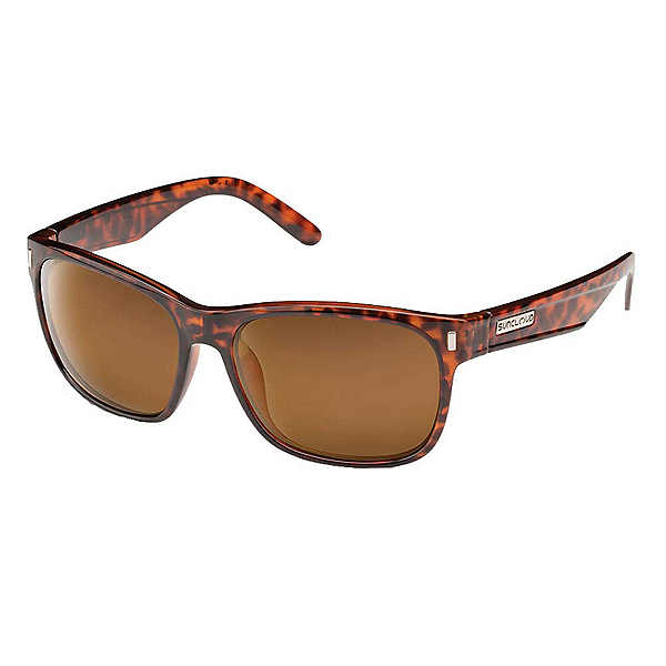 SunCloud Dashboard Sunglasses, Tortoise-Brown Polarized, 600