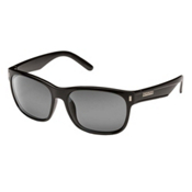 SunCloud Dashboard Sunglasses, Black-Grey Polarized, medium