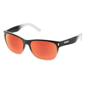 SunCloud Dashboard Sunglasses, Black Fade-Red Mirror Polarized, medium
