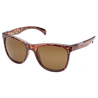 SunCloud Doubletake Sunglasses, Matte Tortoise - Brown Polarized, viewer