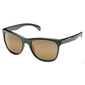 SunCloud Doubletake Sunglasses, Matte Green - Sienna Mirror Polarized, medium