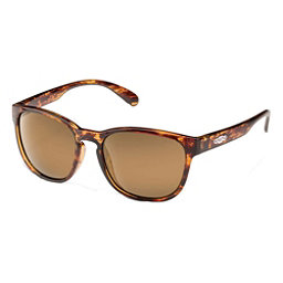 SunCloud Loveseat Polarized Womens Sunglasses, Tortoise-Sienna Mirror Polarized, 256