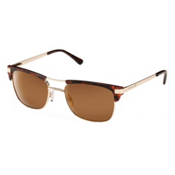 SunCloud Motorway Sunglasses, Matte Tortoise-brown polarized, medium