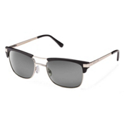 SunCloud Motorway Sunglasses, Matte Black-Gray Polarized, medium