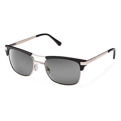 SunCloud Motorway Sunglasses, Matte Tortoise-brown polarized, viewer