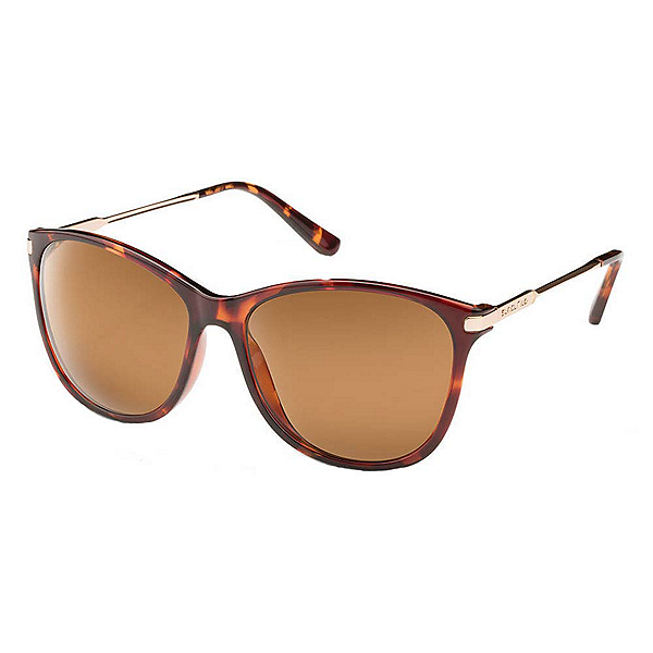 SunCloud Nightcap Sunglasses, Tortoise-Brown Polarized, 600