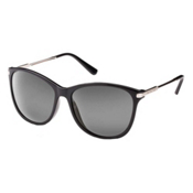SunCloud Nightcap Sunglasses, Black-Gray Polarized, medium