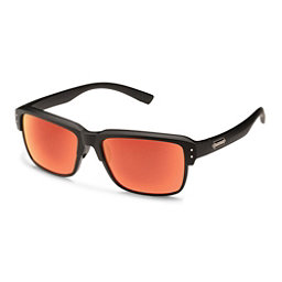 SunCloud Port_O_Call Sunglasses, Matte Black-Red Mirror Polarized, 256