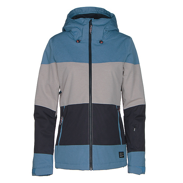 O'Neill Seashell Womens Insulated Snowboard Jacket, Azure Blue, 600