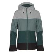 O'Neill Seashell Womens Insulated Snowboard Jacket, Gables Green, medium