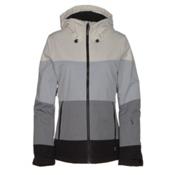 O'Neill Seashell Womens Insulated Snowboard Jacket, Black Out, medium