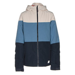 O'Neill Coral Girls Snowboard Jacket, Azure Blue, 256