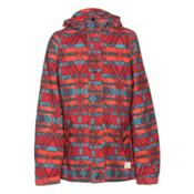 O'Neill Mystic Girls Snowboard Jacket, Poppy Red, medium