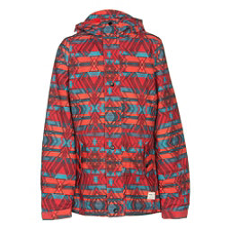 O'Neill Mystic Girls Snowboard Jacket, Poppy Red, 256