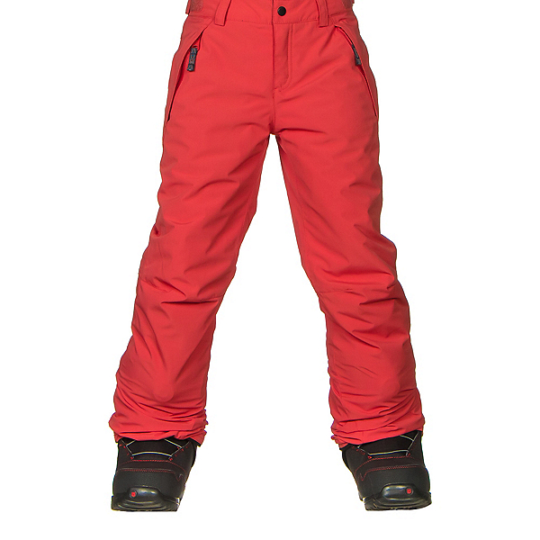 O'Neill Charm Girls Snowboard Pants, Poppy Red, 600