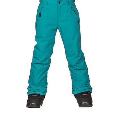 O'Neill Charm Girls Snowboard Pants, Teal Blue, viewer