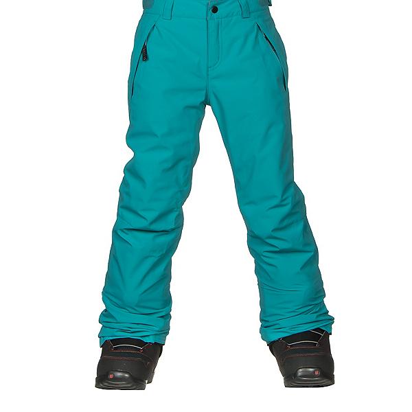 O'Neill Charm Girls Snowboard Pants, Teal Blue, 600