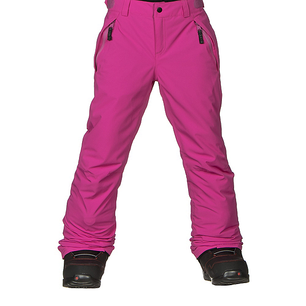 O'Neill Charm Girls Snowboard Pants, Hot Pink, 600