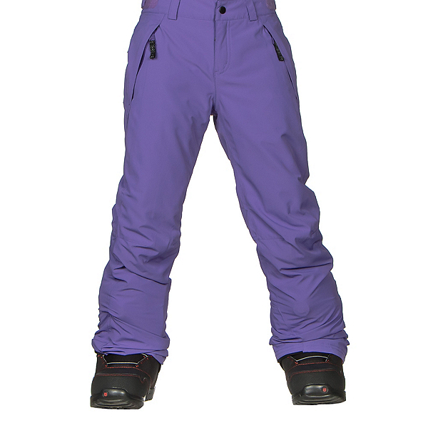O'Neill Charm Girls Snowboard Pants, Grape Soda, 600
