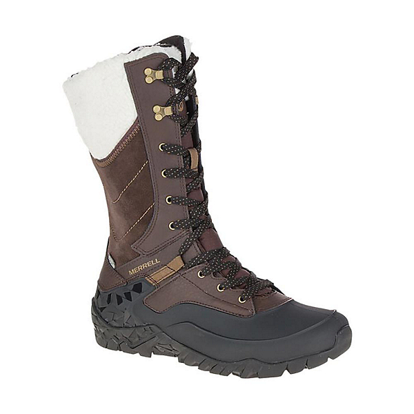 Merrell Aurora Tall Ice Waterproof Womens Boots, Espresso, 600
