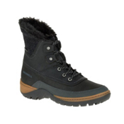 Merrell Sylva Mid Lace Waterproof Womens Boots, Black, medium