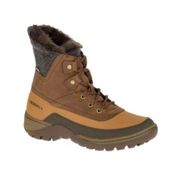 Merrell Sylva Mid Lace Waterproof Womens Boots, Merrell Tan, medium