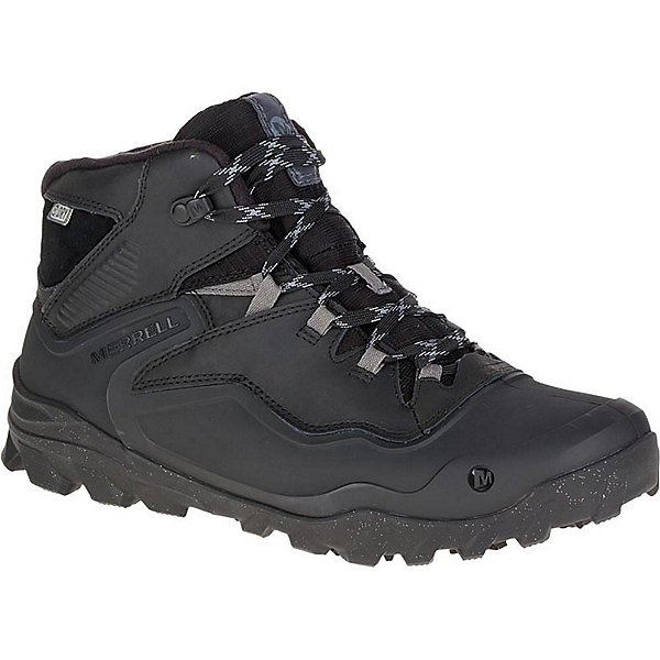 Merrell Overlook 6 Ice Waterproof Mens Boots, Black, 600