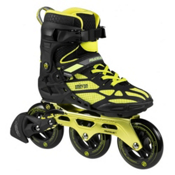 Powerslide Phuzion Omicron Inline Skates, Black-Yellow, medium