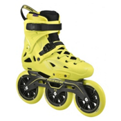 Powerslide Imperial Megacruiser 125 Urban Inline Skates 2016, Neon Yellow, medium