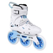 Powerslide Imperial Megacruiser 125 Urban Inline Skates, White-Blue, medium
