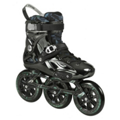 Powerslide Imperial Megacruiser Pro 125 Urban Inline Skates 2016, Black-Chrome, medium