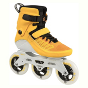 Powerslide Swell 110 Inline Skates 2017, Atomic Tangerine, medium