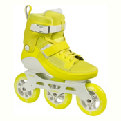 Powerslide Swell 110 Inline Skates 2017, Yellow Flash, medium