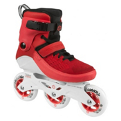 Powerslide Swell 100 Inline Skates, Red, medium