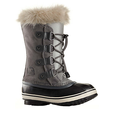 Sorel Youth Joan Of Arctic Girls Boots, Quarry, viewer