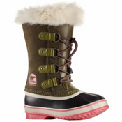 Sorel Youth Joan Of Arctic Girls Boots, Nori-Winter Rose, medium
