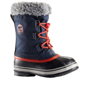Sorel Yoot Pac Boys Boots, Collegiate Navy-Sail Red, medium