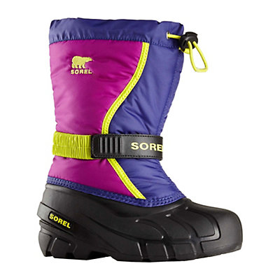 Sorel Flurry Girls Boots, Grape Juice-Bright Plum, viewer