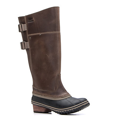 Sorel Slimpack Riding Tall II Womens Boots, Dark Fog-Silver, viewer