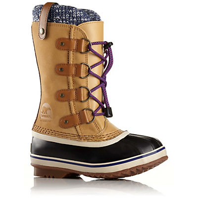 Sorel Joan Of Arctic Knit Girls Boots, Curry, viewer